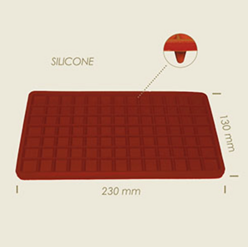 Silicone mat strijkijzer