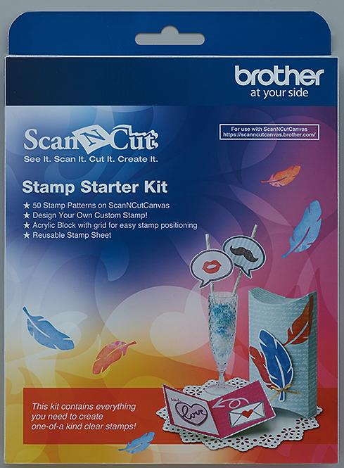 ScanNCut Stempel starterkit