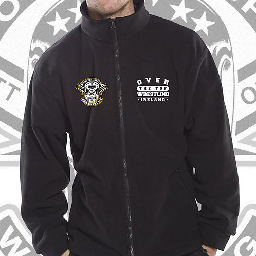 OTT Crew Fleece Zip Up Embroidered