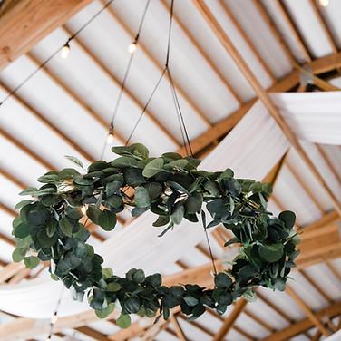 11 hanging greenery hoops