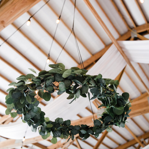 11 hanging greenery hoops