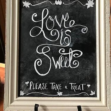 Desert bar sign