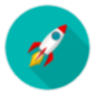 space-rocket-launch-model-icon-flame-log