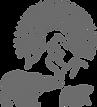 Серый логотип мини