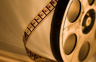 Sepia Film Reel