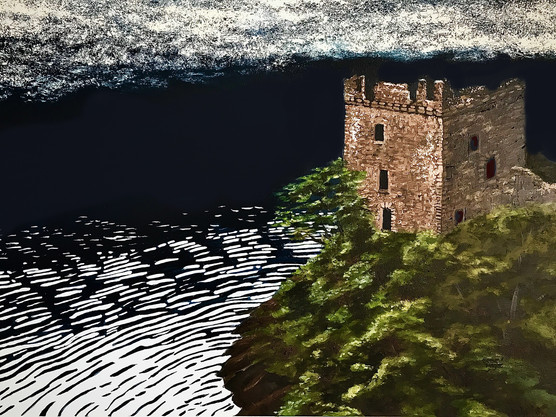 The Loch Ness Castle