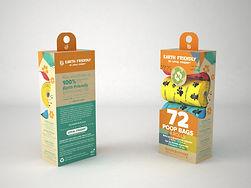 Bolsas biodegradables para desechos de mascotas