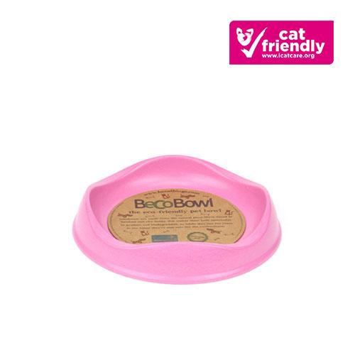 Beco Bowl Cat Pink
