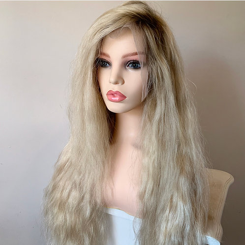 Rooted Blonde Lace Frontal Wig