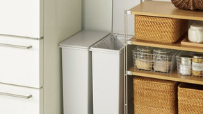 Beautiful dust bins that will seamlessly blend in any room