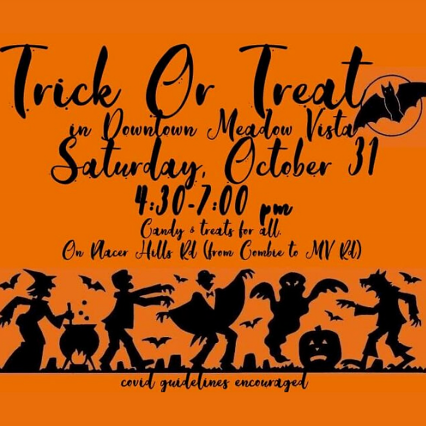 Trick or Treat in Downtown Meadow Vista