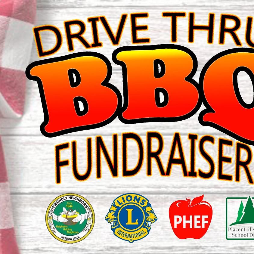 Drive Thru BBQ Fundraiser
