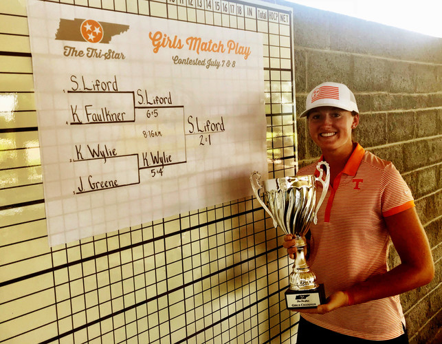 Shelby Liford - 2018 Girls Match Play Champion