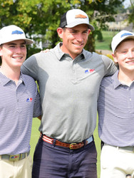 Scott Stallings with junior golfers at TN Junior Cup