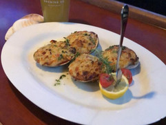 Chopped Baked Clams