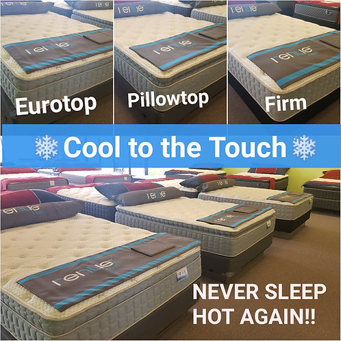 COOL TO THE TOUCH SLEEP TECHNOLOGY - Eurotop, Pillowtop, and Firm