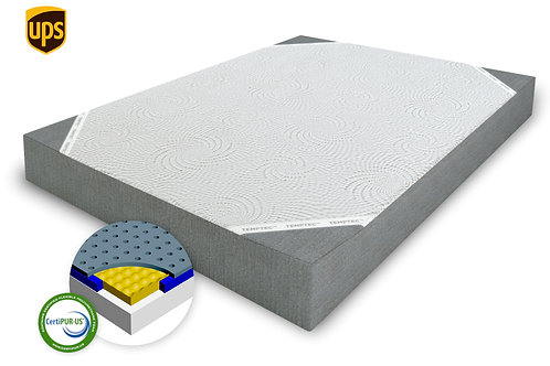 "75% OFF! 8"" Awakenings ""Tranquil"" Firm TruGel/ Memory Foam. Ventilated"