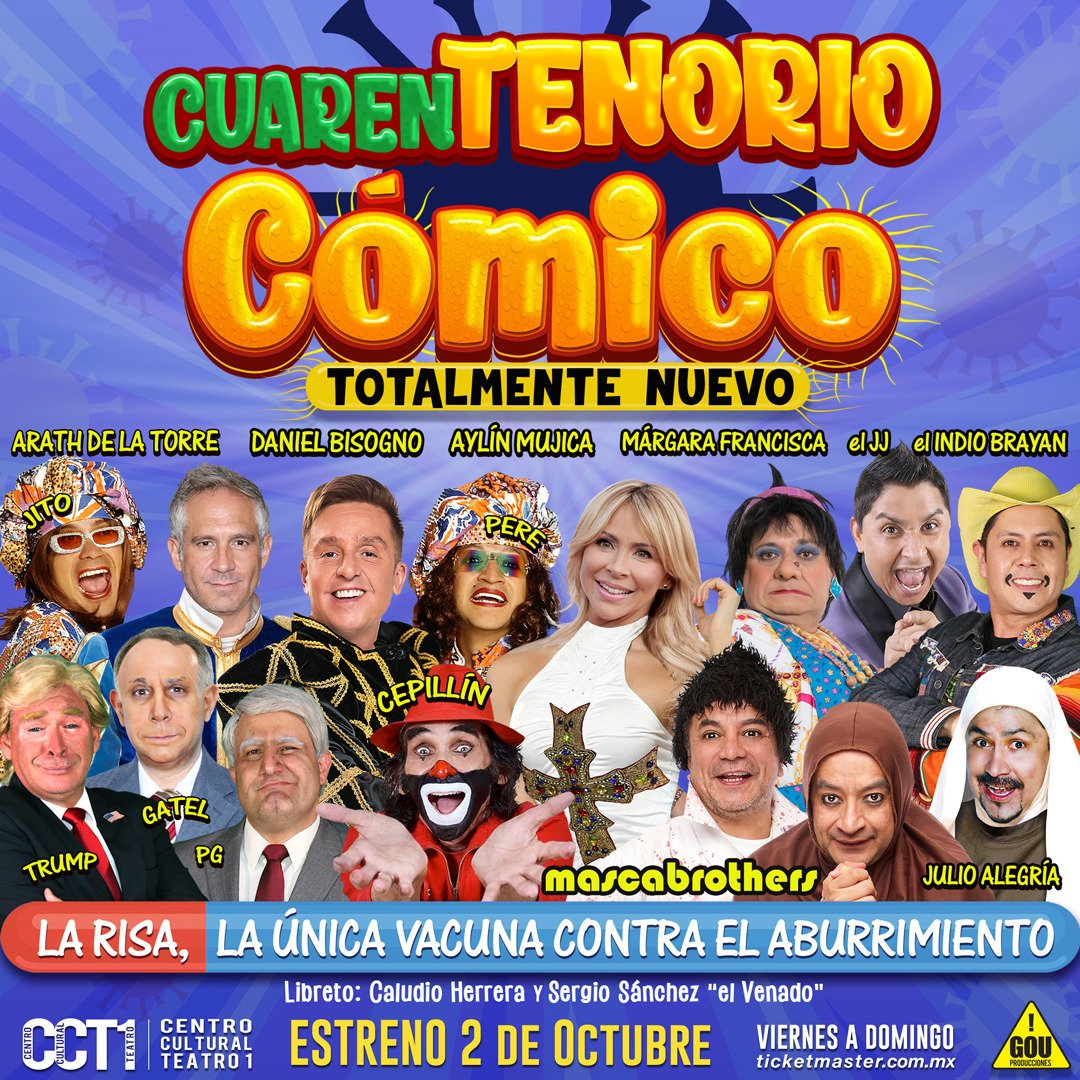EL CUARENTENORIO COMICO