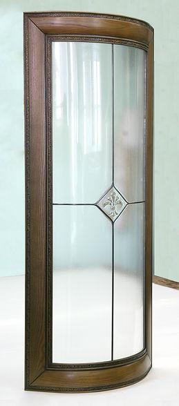 Гнутое стекло.Радиусное стекло на заказ