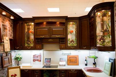 Мебельные витражи. Витражи для кухонных фасадов.