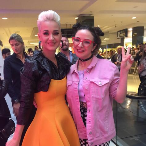 Katy Perry instore - WESTFIELD