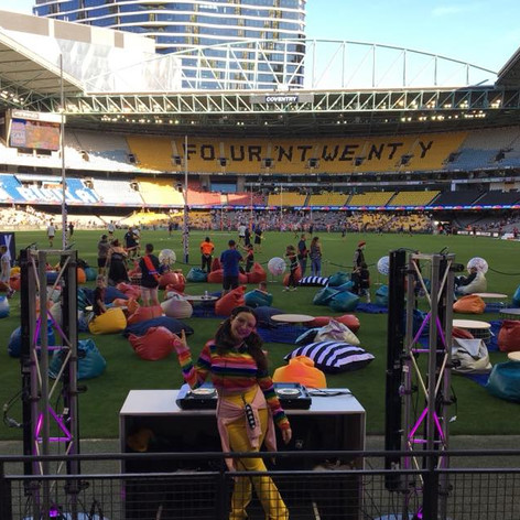 AFLX Launch - ETIHAD STADIUM