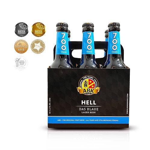 ABK Hell 6 Pack de 330 ml