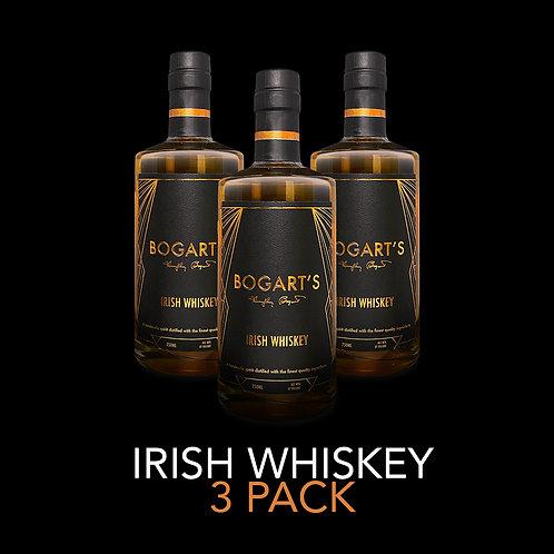Bogart's Irish Whiskey 3 Pack