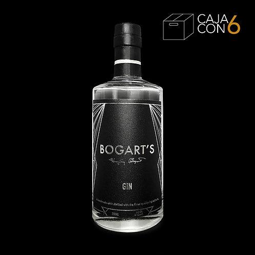 Bogart's Gin caja con 6 pzas.