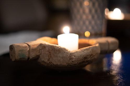 Wood Votive Candle