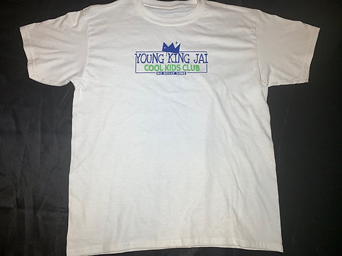White/Blue/Green Cool Kids Club Shirt