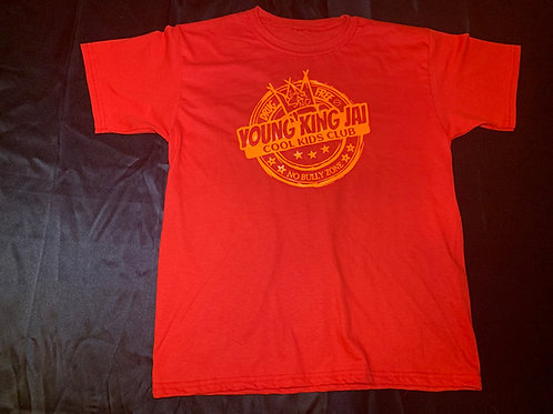 Red/Orange Cool Kids Club Shirt