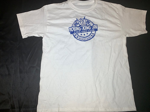 White/Blue Cool Kids Club Shirt