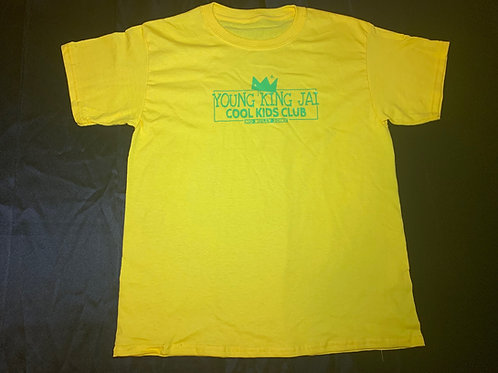 Yellow/Green Cool Kids Club Shirt