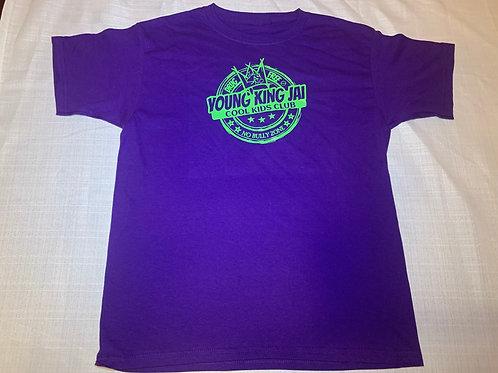 Purple/Green Cool Kids Club Shirt