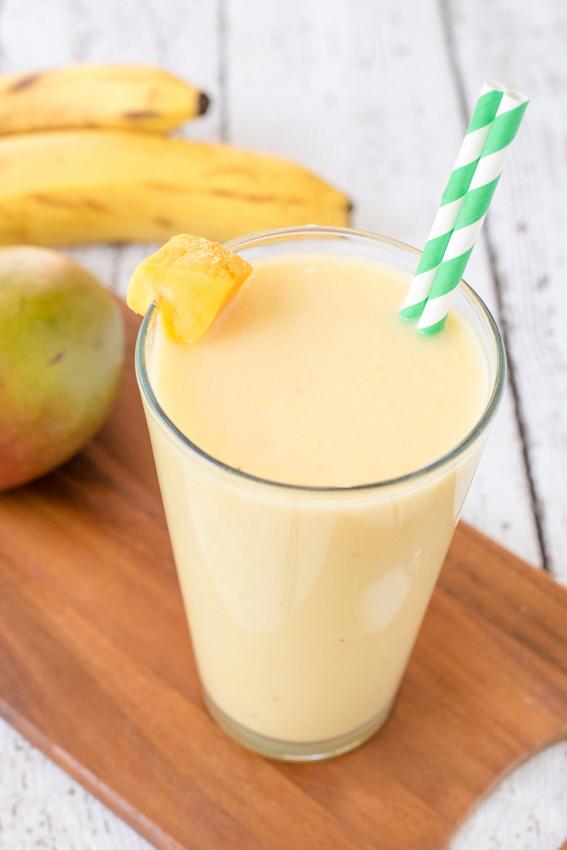 Coconut Mango Creamsicle Smoothie
