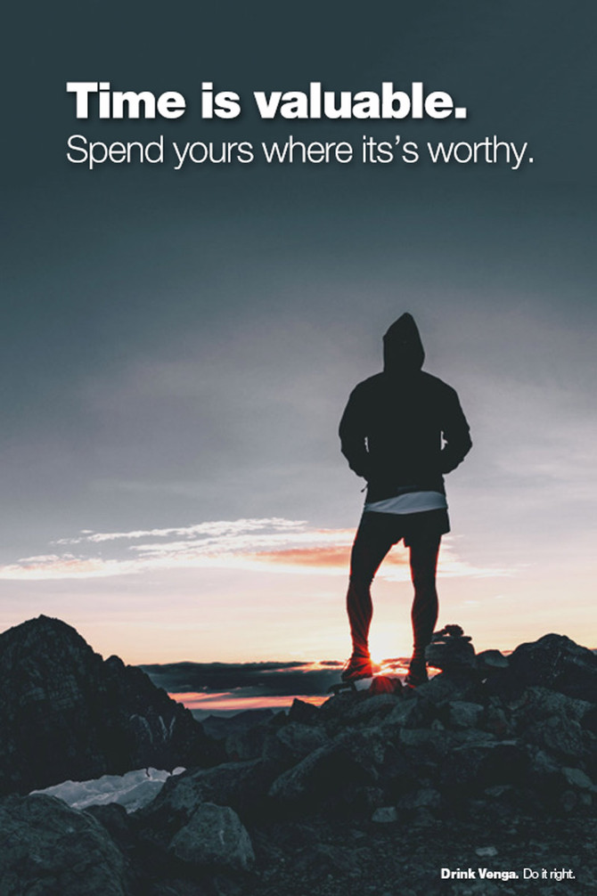 Time is valuable. Spend yours where it's worthy.