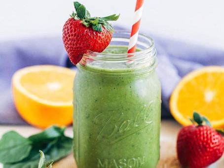 Power-Up Green Tea Fruit Smoothie
