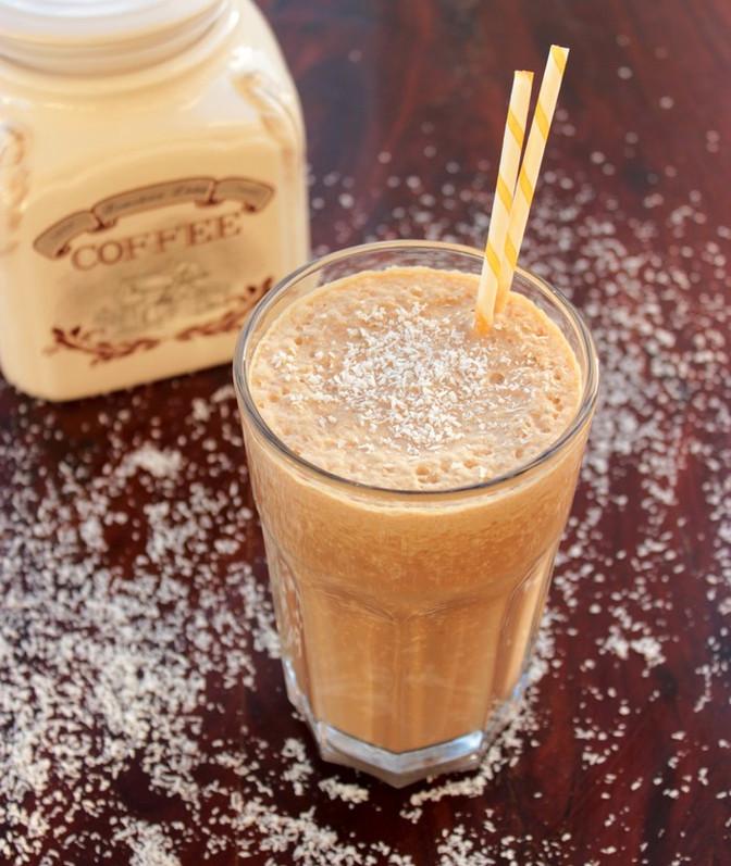 Skinny Vegan Coffee Milkshake
