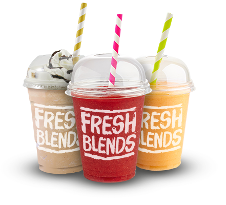 Fresh Blends Smoothies Frappes Lemonades