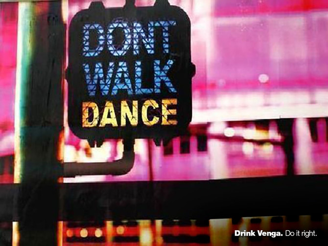 Don't walk. Dance.
