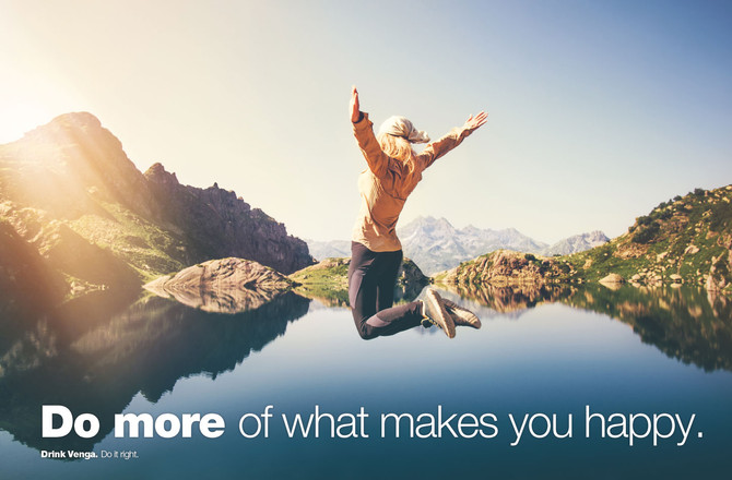 do more of what makes you happy :-)