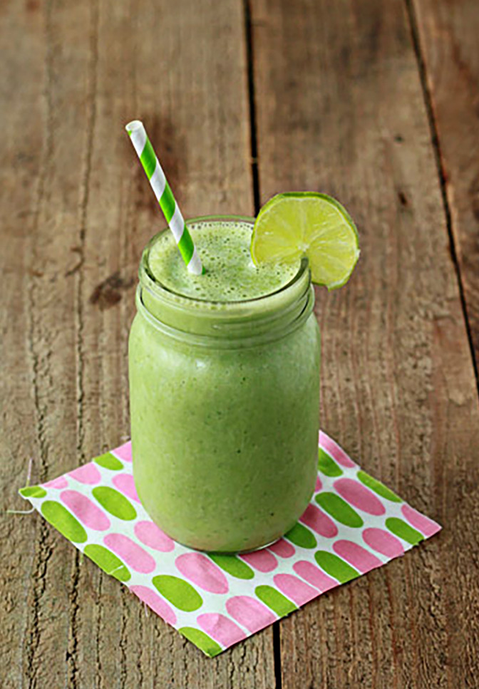 Freezer Ready Healthy Green Energizing Smoothie!