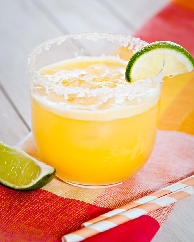 Cool off with a sparkling Mango Agua Fresca