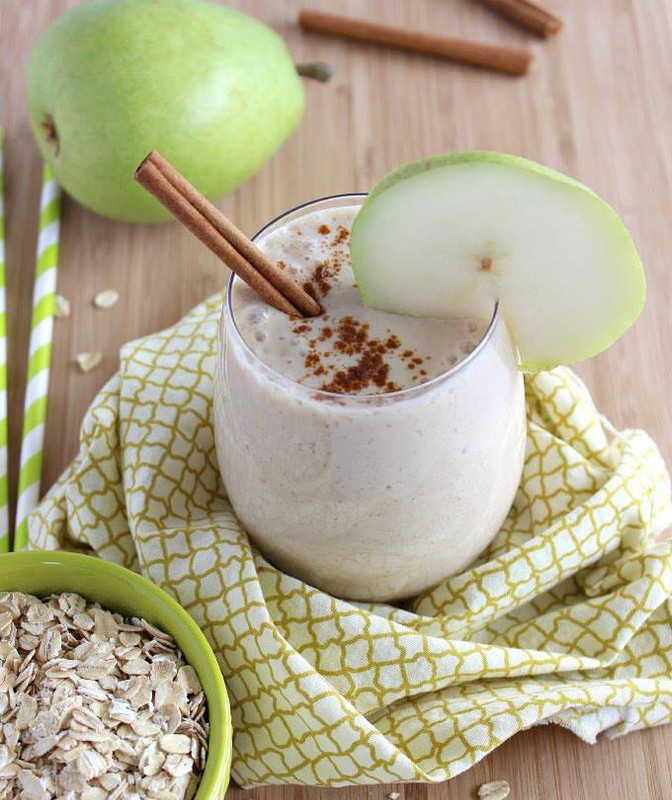 Spicy Pear Smoothie