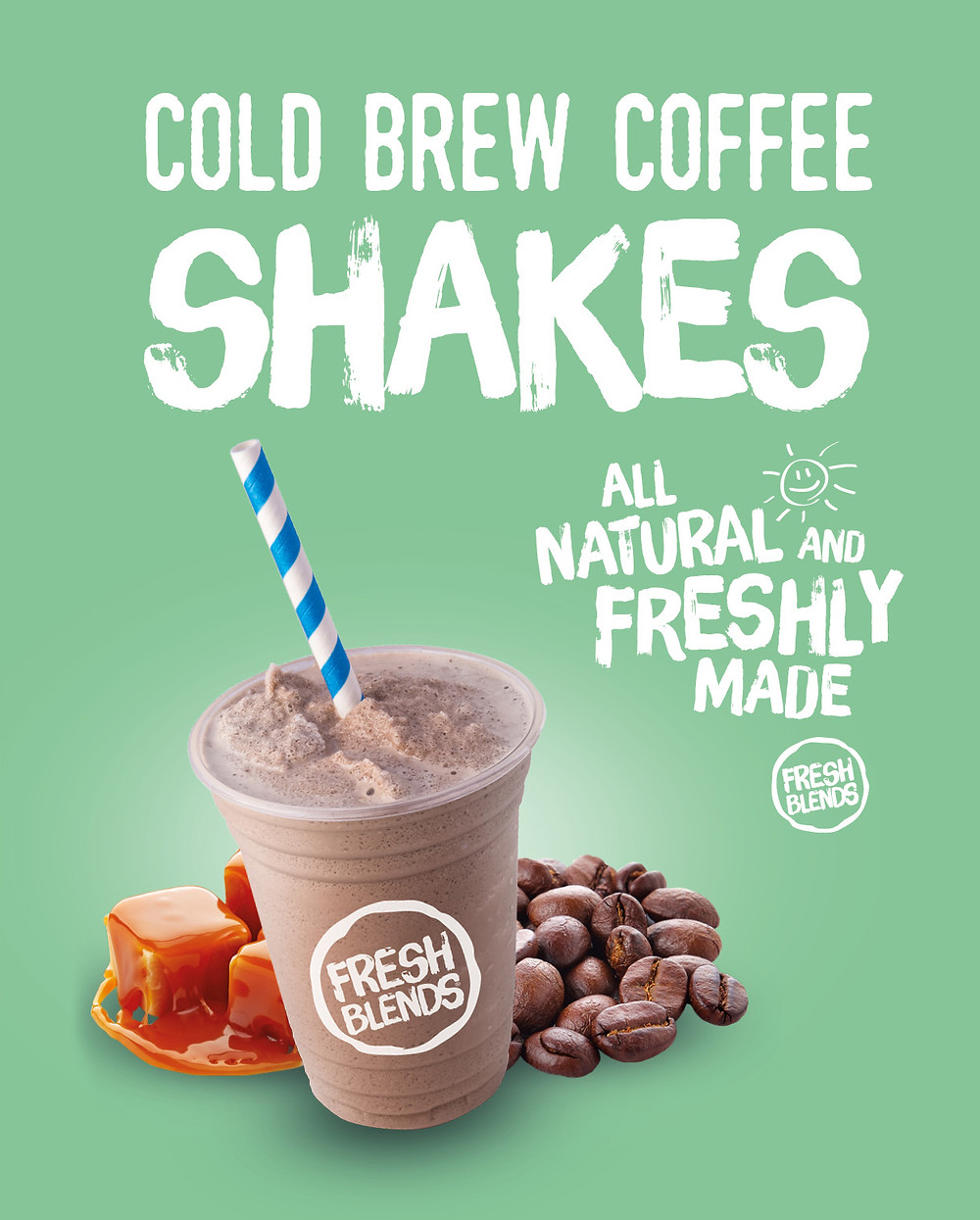Fresh Blends Cold Brew Coffee Shakes