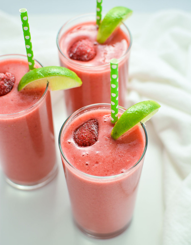 Happy New Year Triple Berry Limeade Smoothie