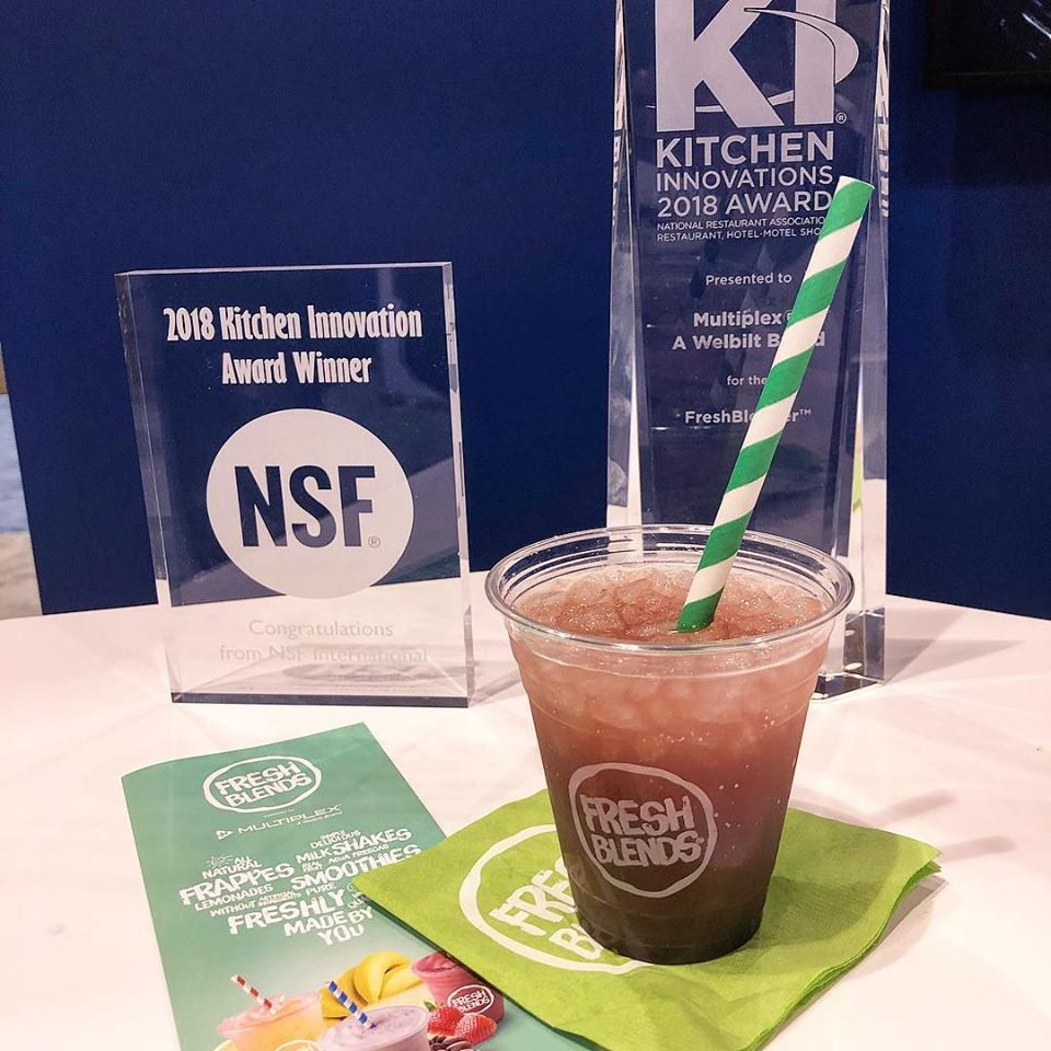 NRA Kitchen Innovation Award for the Multiplex Fresh Blender®