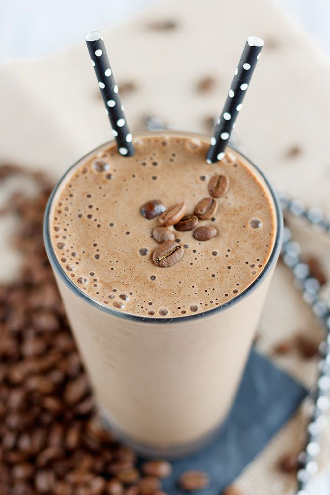 Thai Iced Cold Brew Coffee Protein Shake