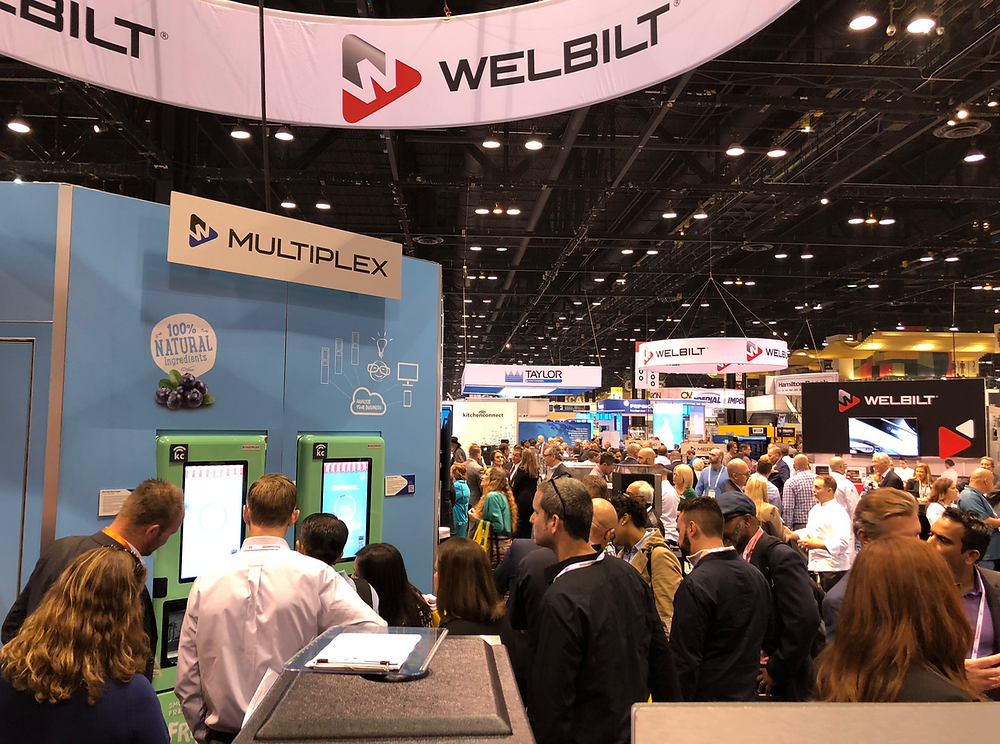 Welbilt Show booth at NRA Show 2018 Chicago
